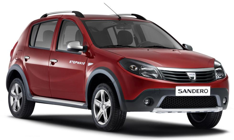 dacia nouvelle sandero stepway. Black Bedroom Furniture Sets. Home Design Ideas
