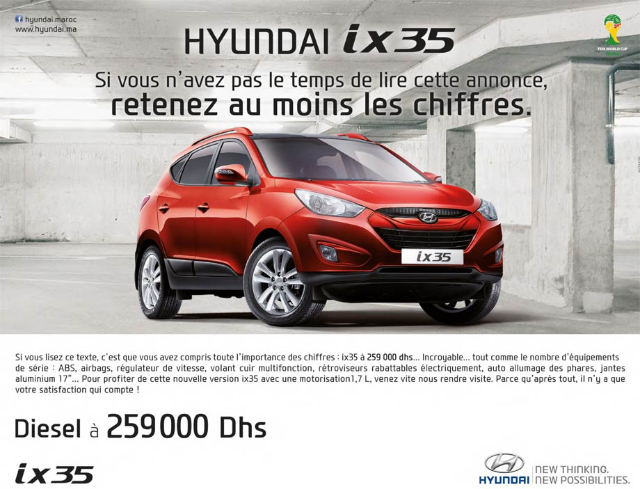 Hyundai ix35 maroc 2015