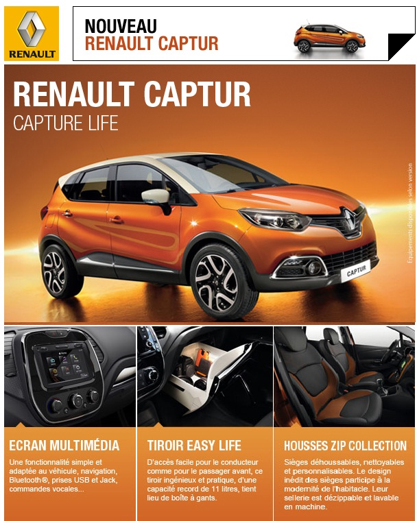 promo renault captur maroc partir de dh promotion au maroc. Black Bedroom Furniture Sets. Home Design Ideas
