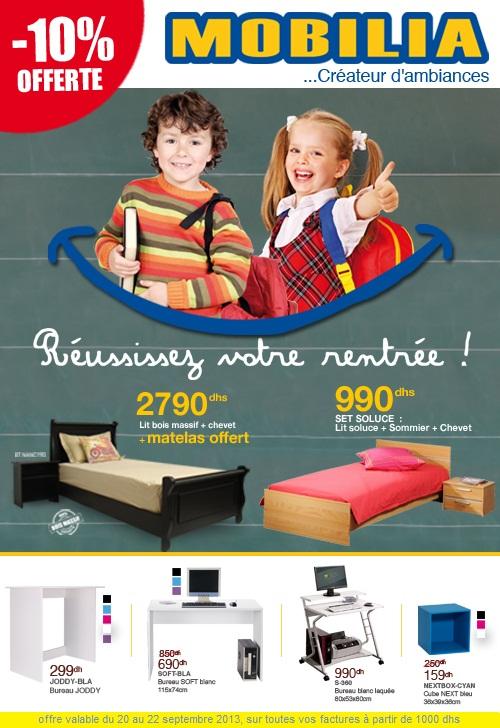 Promotion mobilia du 20 au 22 septembre 2013 promotion for Mobilia 2018 maroc