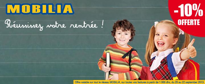Promotion mobilia du 20 au 22 septembre 2013 promotion for Mobilia kenitra