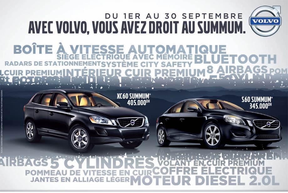 promotion voiture neuve volvo xc60 maroc promotion au maroc. Black Bedroom Furniture Sets. Home Design Ideas