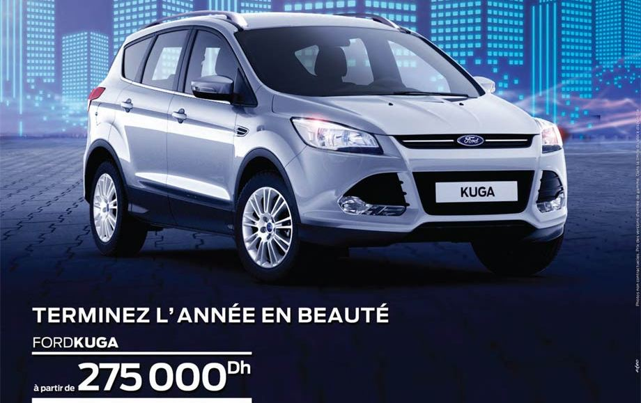 promotion ford kuga prix partir de dh promotion au maroc. Black Bedroom Furniture Sets. Home Design Ideas