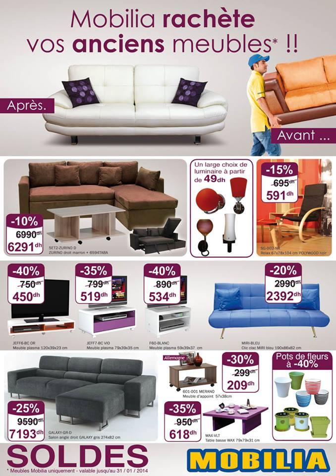 offre mobilia l operation mobi recup jusqu au janvier 2014 promotion au maroc. Black Bedroom Furniture Sets. Home Design Ideas