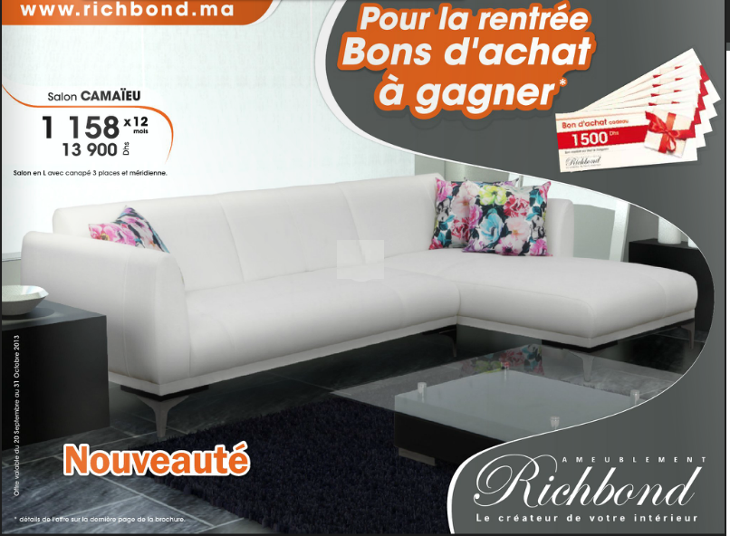 Catalogue richbond promotions et soldes