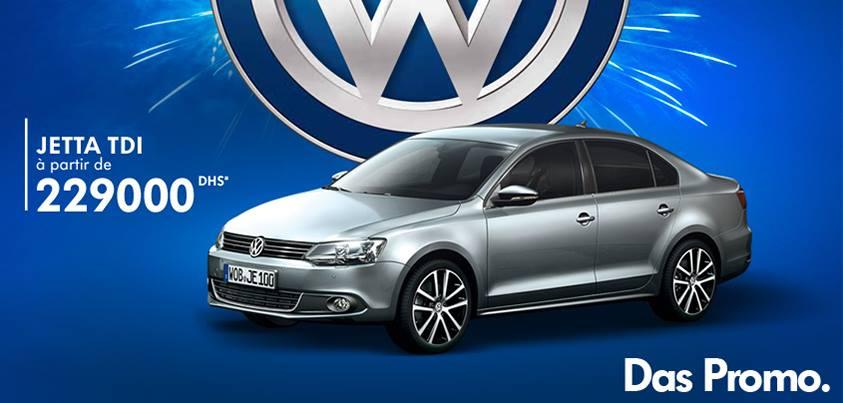 Promotion volkswagen jetta tdi prix partir de dh for Mobilia 2017 maroc