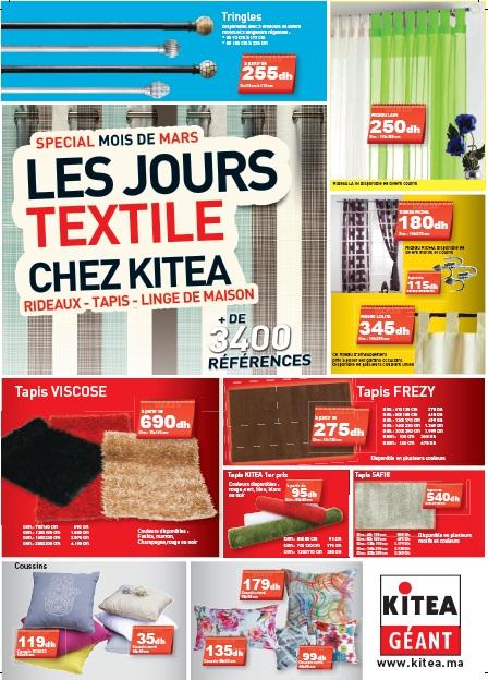 Catalogue KITEA Textile  spécial mois de Mars  Promotion ...