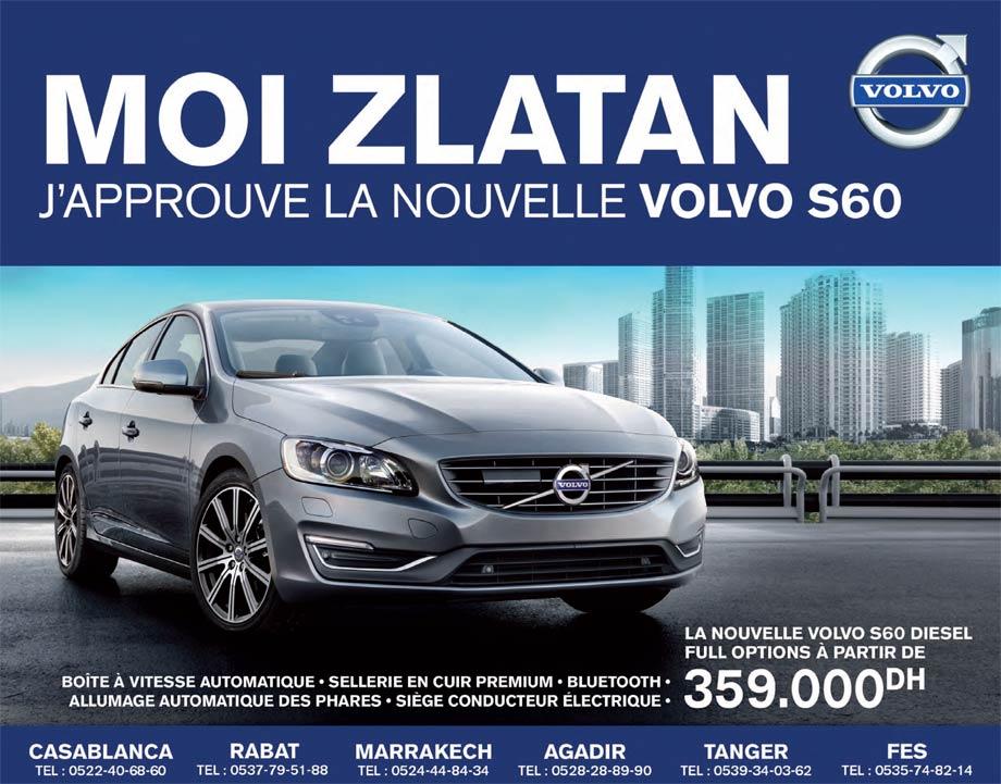 volvo s60 maroc promotion 2014
