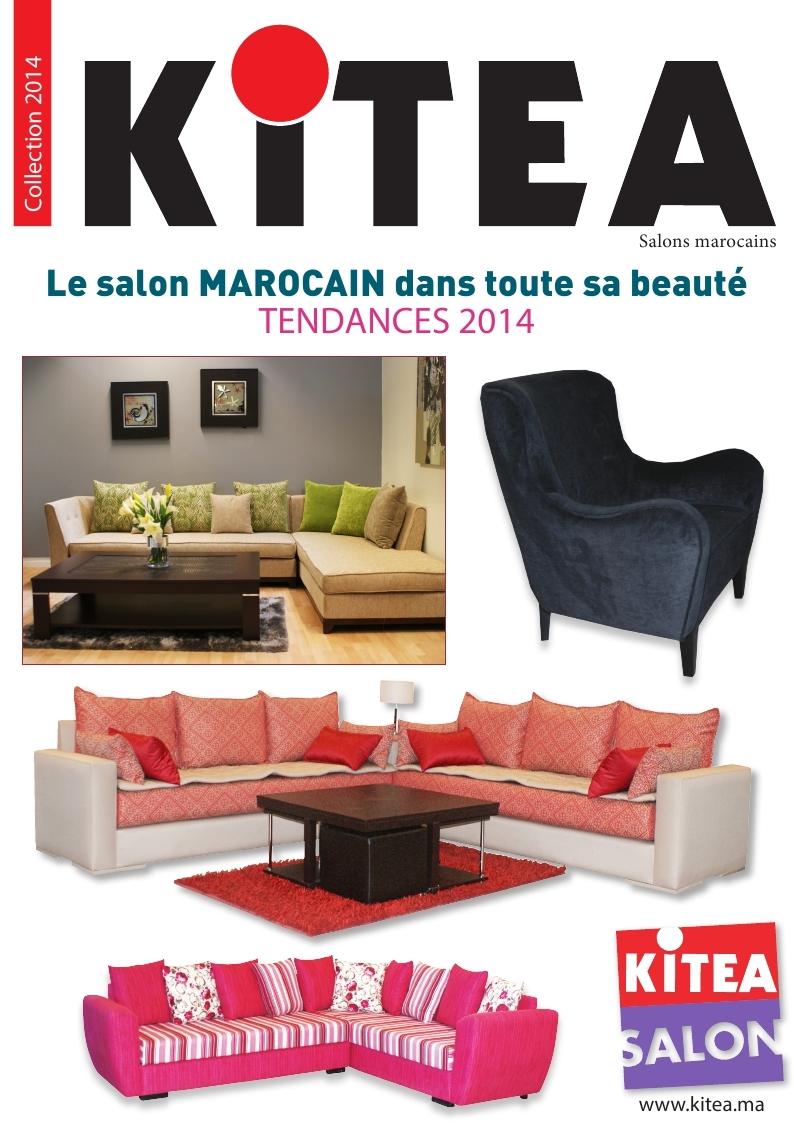 Catalogue kitea salon marocain collection 2014 for Catalogue deco