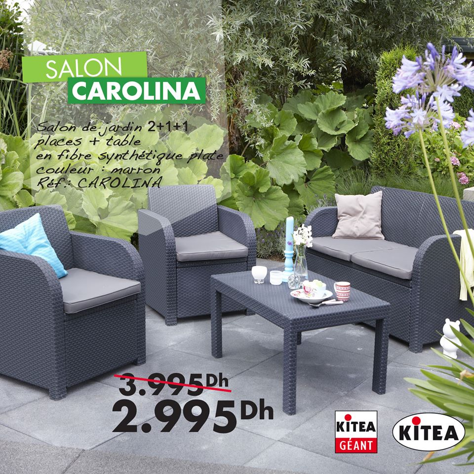 Catalogue Kitea Maroc Sp Cial Mobilier D Ext Rieur Collection  # Meuble Tv Kitea