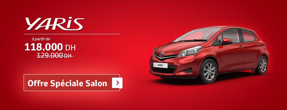 Promotion Toyota Yaris Prix A Partir De   Dh Promotion Au Maroc