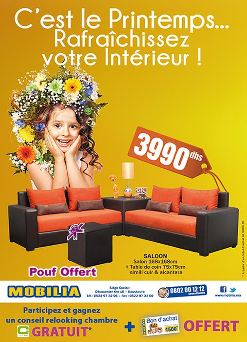 Catalogue Et D Pliant Actuelle De Mobilia Promotion Au Maroc