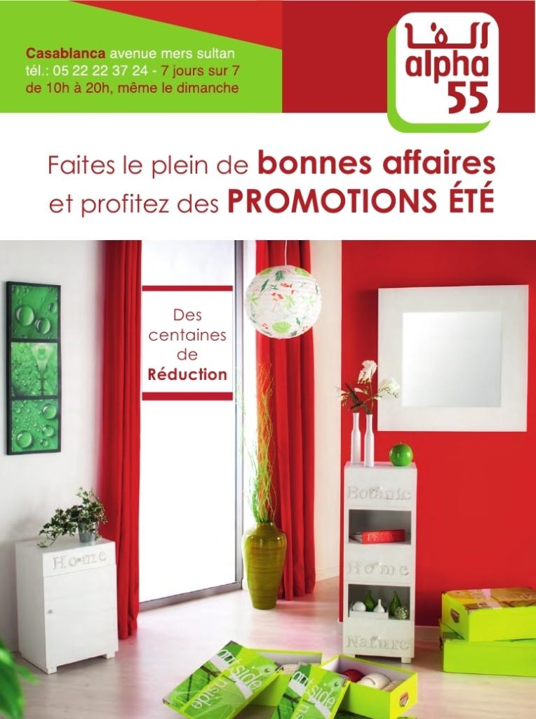 Alpha 55 maroc catalogue promotion t 2014 promotion au for Mobilia 2017 maroc