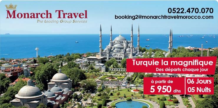 voyage maroc turquie 2015