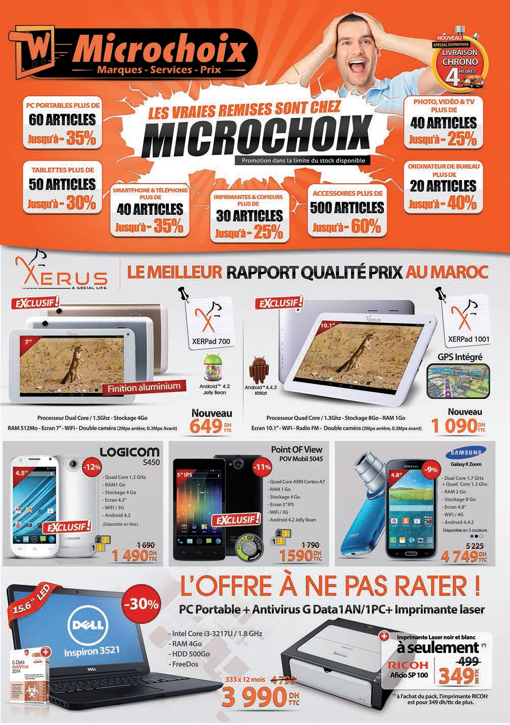 Microchoix Catalogue Promotionnel Octobre 2014 Promotion