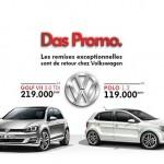 Volkswagen-Maroc-GOLF VII et de la POLO-DasPromo-2015