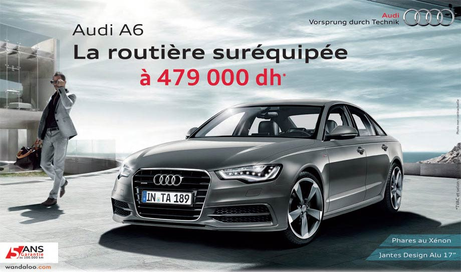 audi promotion et offres des audi au maroc. Black Bedroom Furniture Sets. Home Design Ideas