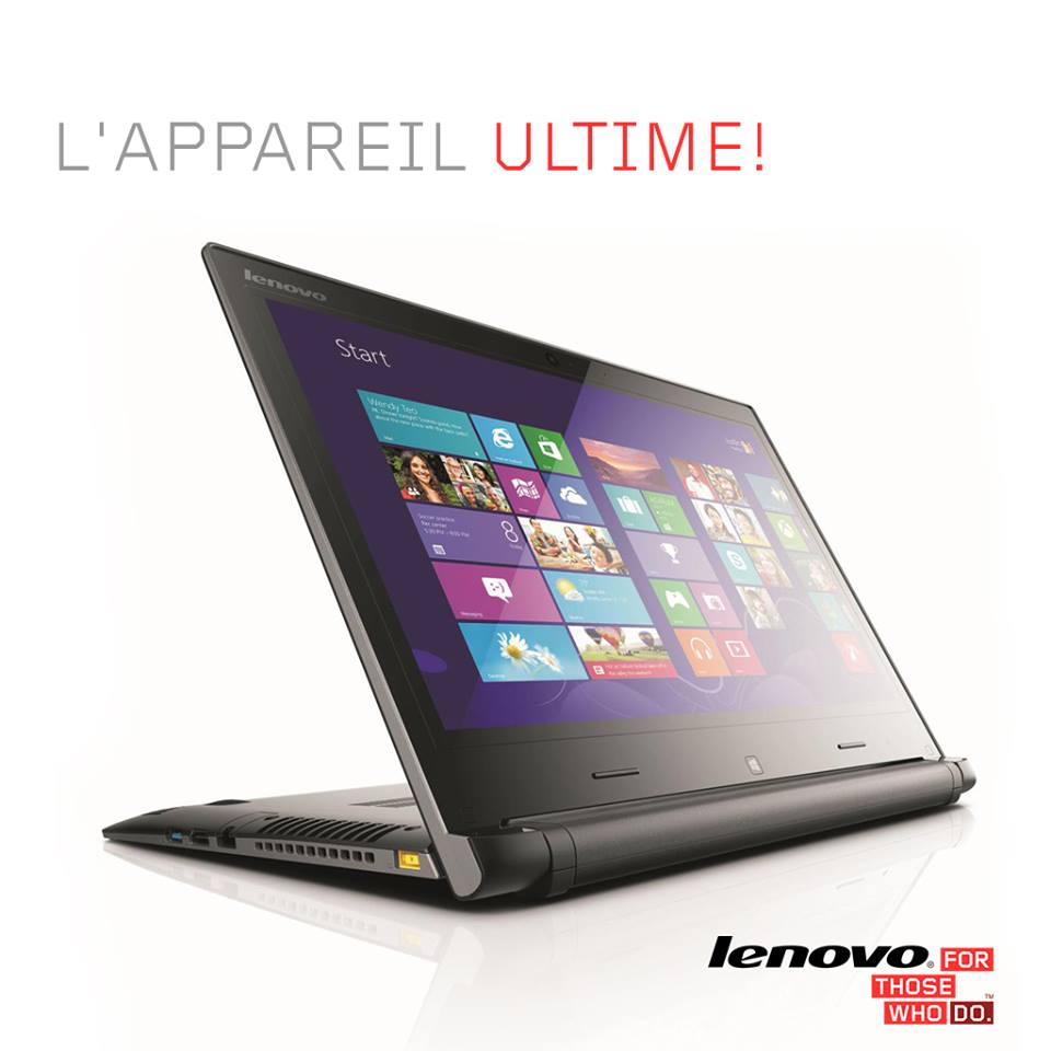 lenovo flex 2 pc portable et tablette multimode prix 6199 dh promotion au maroc. Black Bedroom Furniture Sets. Home Design Ideas