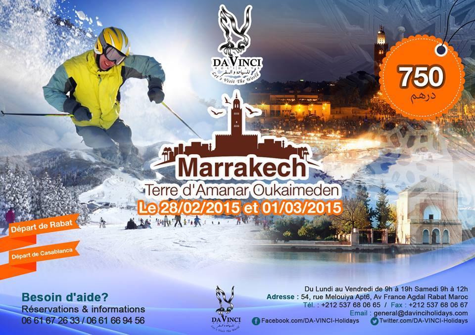 voyage organisé france depart maroc