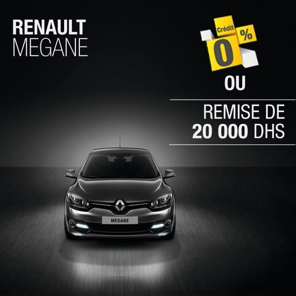 Renault m gane promotion cr dit gratuit ou remise de 20000 for Mobilia internet