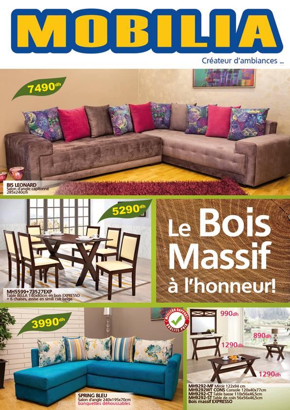 Catalogue mobilia brochure d pliant for Mobilia non habent sequelam