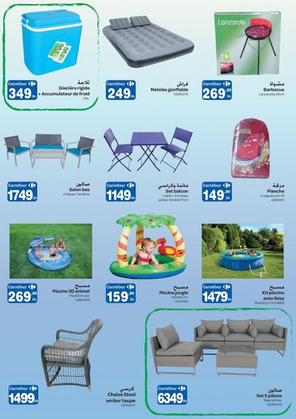 catalogue promotionnel d t 2015 chez carrefour maroc jusqu 28 juin promotion au maroc. Black Bedroom Furniture Sets. Home Design Ideas