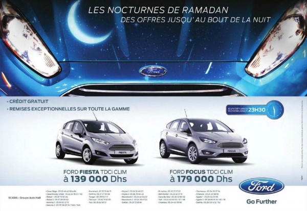 Ford focus maroc promotion prix partir de dh for Mobilia internet