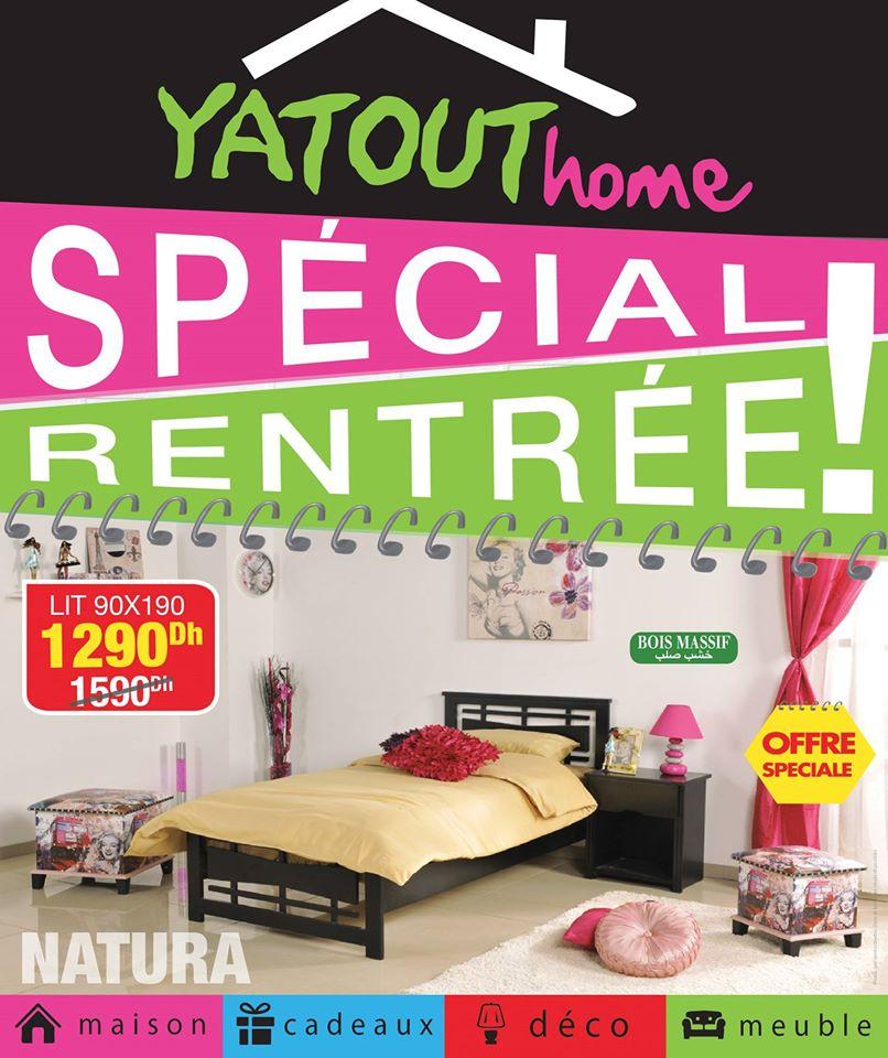 Yatout catalogue promotionnel sp ciale rentr e scolaire for Mobilia 2018 maroc