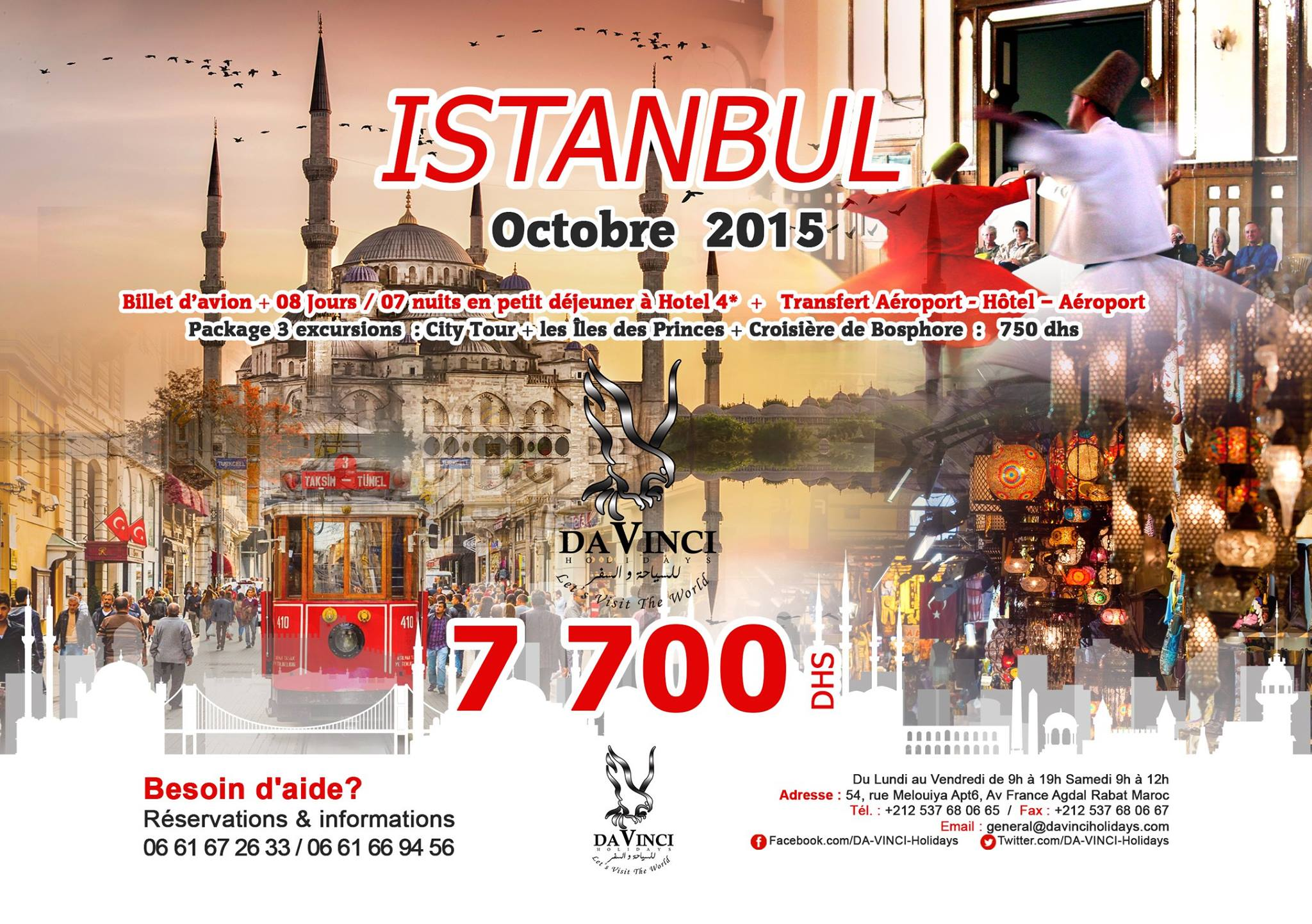 voyage maroc istanbul pas cher