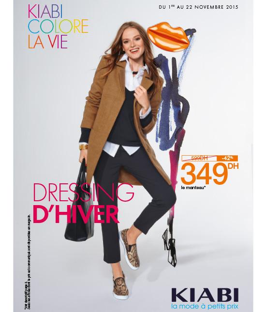 Kiabi Maroc Catalogue Du 1 Au 22 Novembre 2015 Nouvelle Collection La Mode 224 Petits Prix