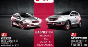 Kia-cee'd-sportage-promotion-au-maroc-janvier-2016-solde-offre