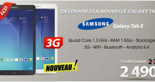 Tabelette-galaxy-E-promotion-au-maroc-prix-samsung-solde