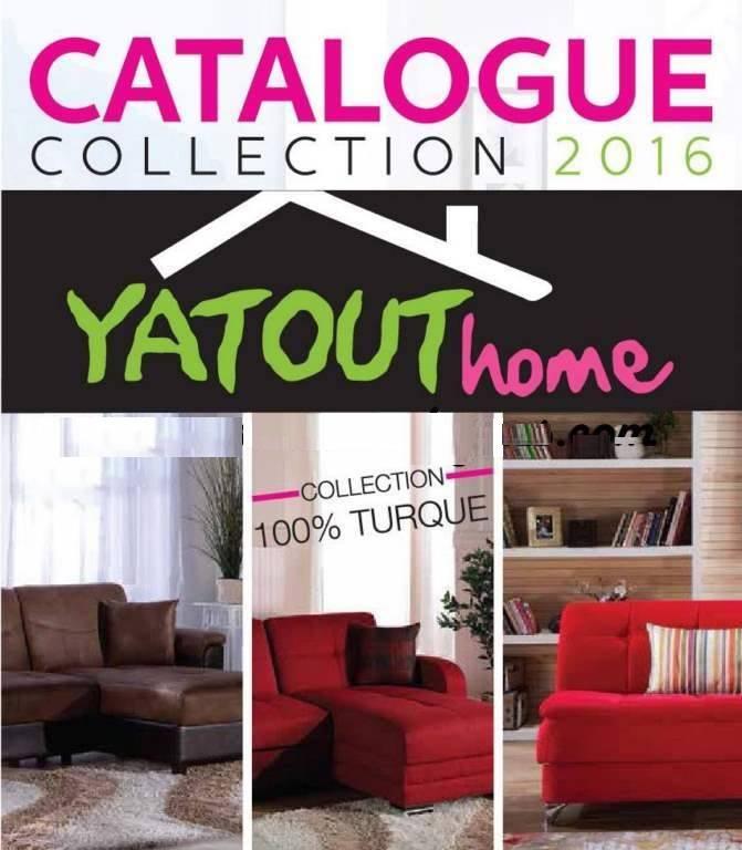 D couvrez vite la nouvelle catalogue de yatout home maroc for Mobilia 2018 maroc