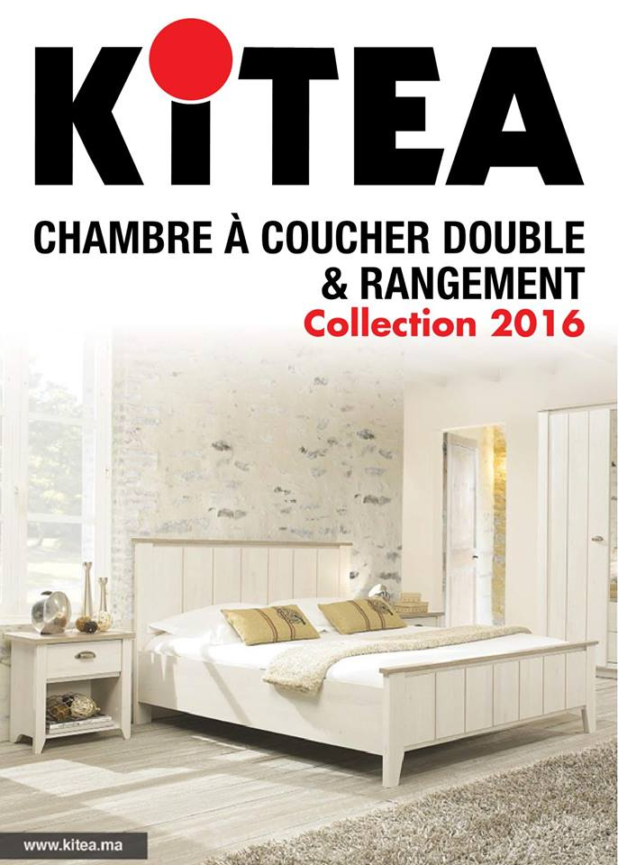 Catalogue promotionnel kitea chambre coucher collection for Chambre a coucher kitea