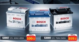 Batteries-BOSCH MAROC bricoma-maroc-2017