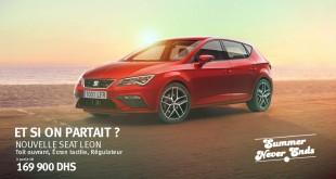 SEAT leon maroc promotion 2017