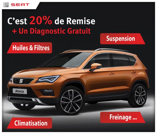 Offre spécial chez SEAT Maroc | Promotion au maroc
