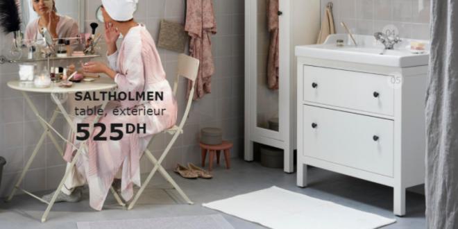 Catalogue promotionnel ikea maroc pour salle de bain for Mobilia kenitra