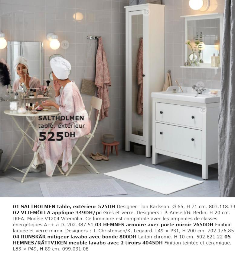 Catalogue Promotionnel Ikea Maroc Pour Salle De Bain Collection 2018
