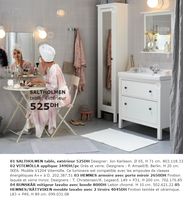 catalogue promotionnel ikea maroc pour salle de bain collection 2018 promotion au maroc. Black Bedroom Furniture Sets. Home Design Ideas