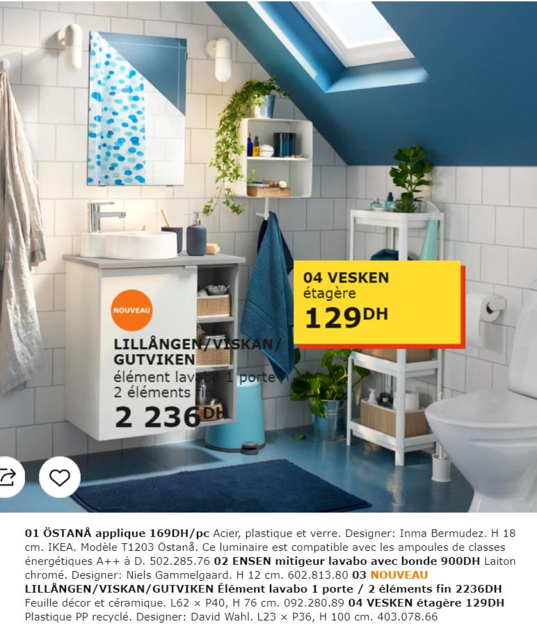 Catalogue Promotionnel Ikea Maroc Pour Salle De Bain