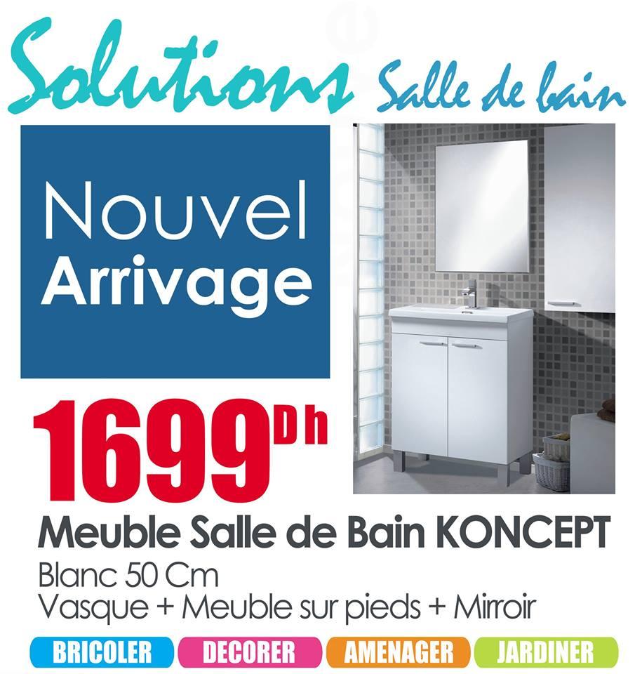 Solution salle de bain chez mr bricolage novembre 2017 promotion au maroc page 2 - Mr bricolage salle de bain catalogue ...