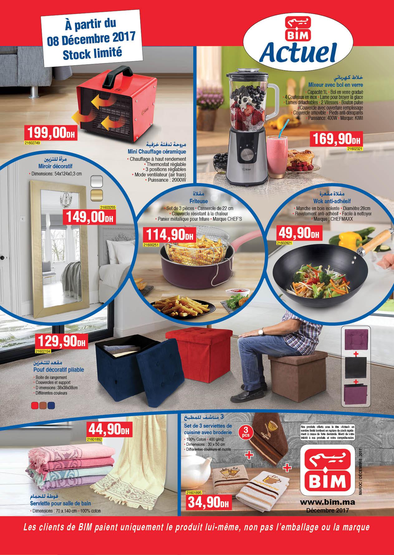 Bim Maroc Catalogue Promotionel Du Vendredi Dcembre With