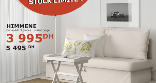 ikea maroc catalogue brochure d pliant promotionnel. Black Bedroom Furniture Sets. Home Design Ideas