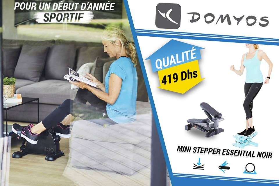 Décathlon Maroc Promotion Sur Les Machines Sportif Domyos