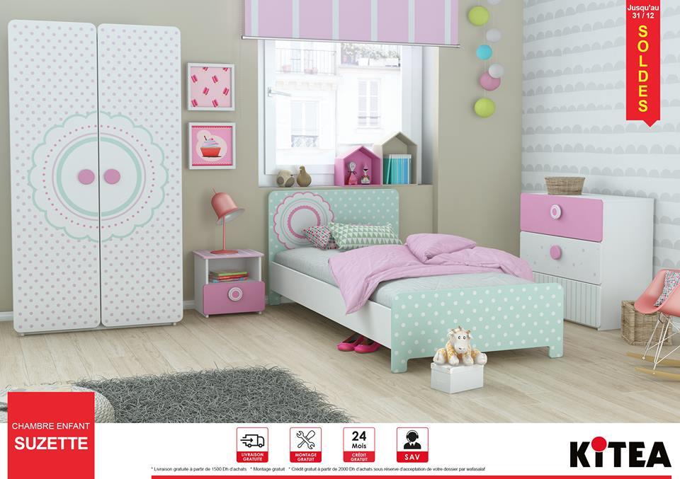 Kitea maroc promotion Chambre enfant SUZETTE | Promotion au ...