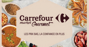 Carrefour gourmet avril
