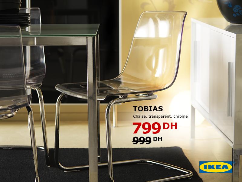 Ikea Maroc Promotion Ramadan Sur Chaise Transparent Tobias Prix A 799 Dh Promotion Au Maroc
