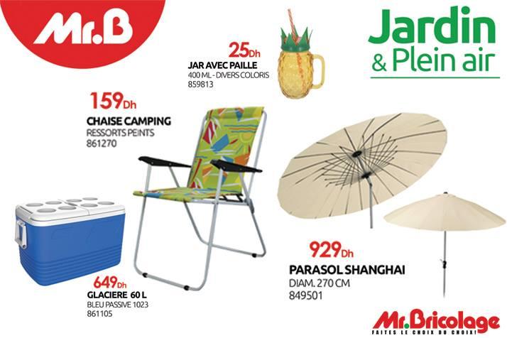 Mr bricolage promotion sur une panoplie de produits camping et plage ...