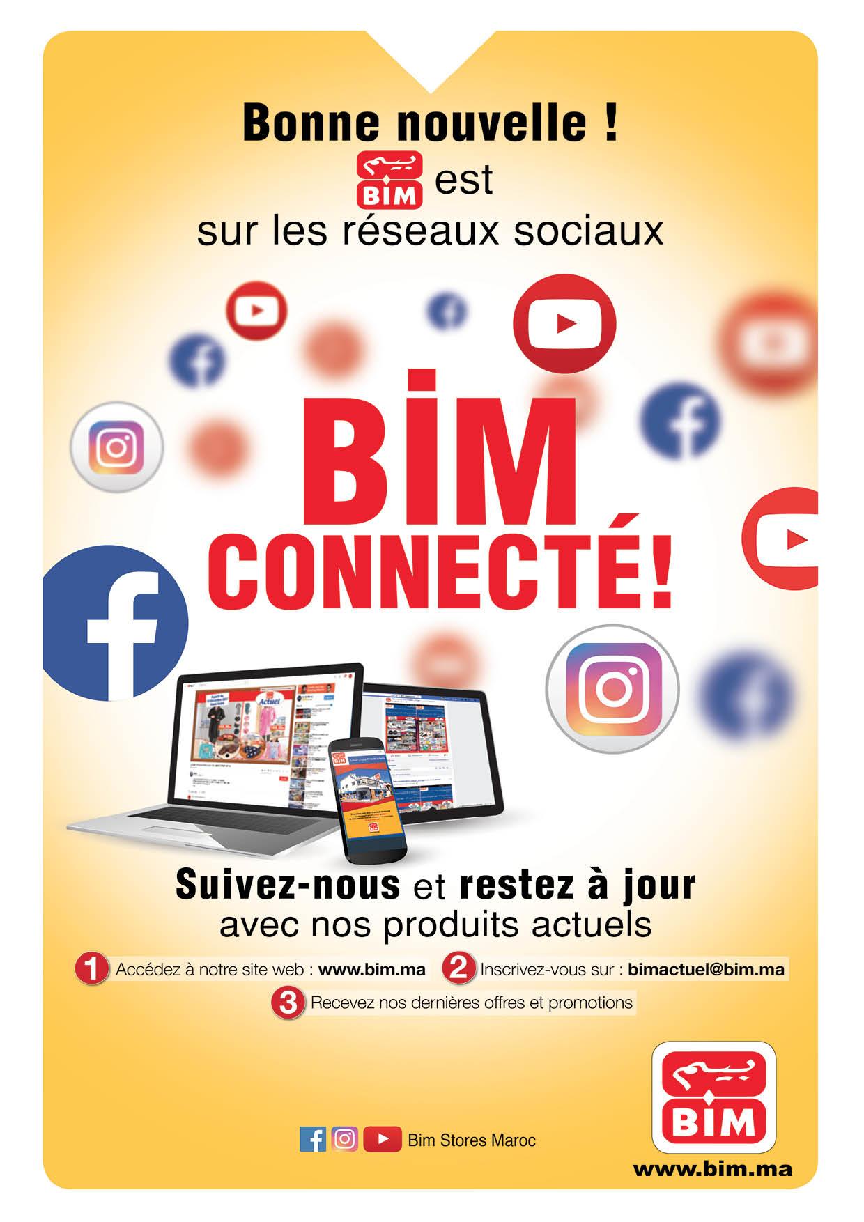 catalogue bim rentr e scolaire vendredi 31 ao t 2018 promotion au maroc page 5. Black Bedroom Furniture Sets. Home Design Ideas